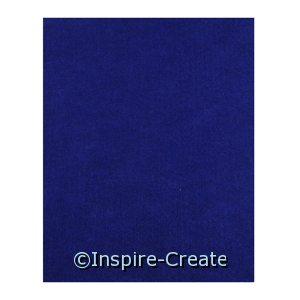 Royal Blue 9x12 Soft Felt Sheets (24)*