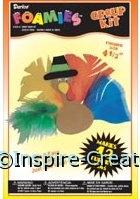 Foamies Turkey Pin Group Kit (Makes 12)*