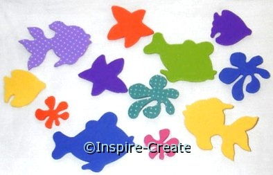 Foamies Under the Sea Stickers*