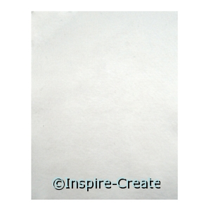 White 9x12 Soft Felt Sheets (24)*