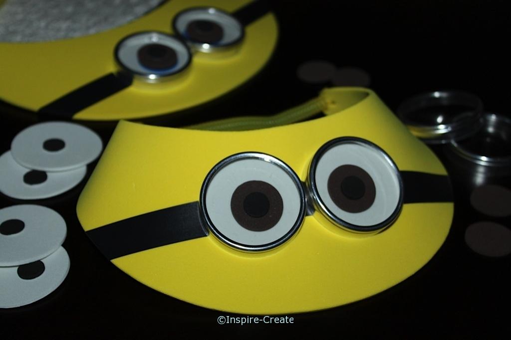 Yellow Visor Kit for Minion Party (Makes 6)*