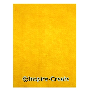 Yellow 9x12 Soft Felt Sheets (24)*