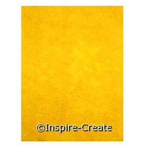 Yellow 9x12 Soft Felt Sheets (24)*