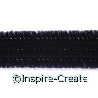 Black Chenille Stems (100)*