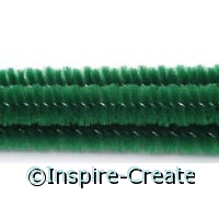 Emerald Chenille Stems (100)*