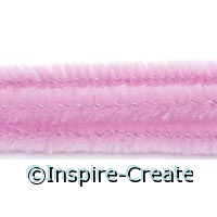 Pink Chenille Stems (100)*