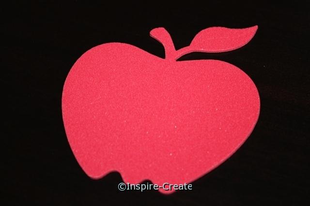 Red Apple Foam SHAPES (Bulk 60)*