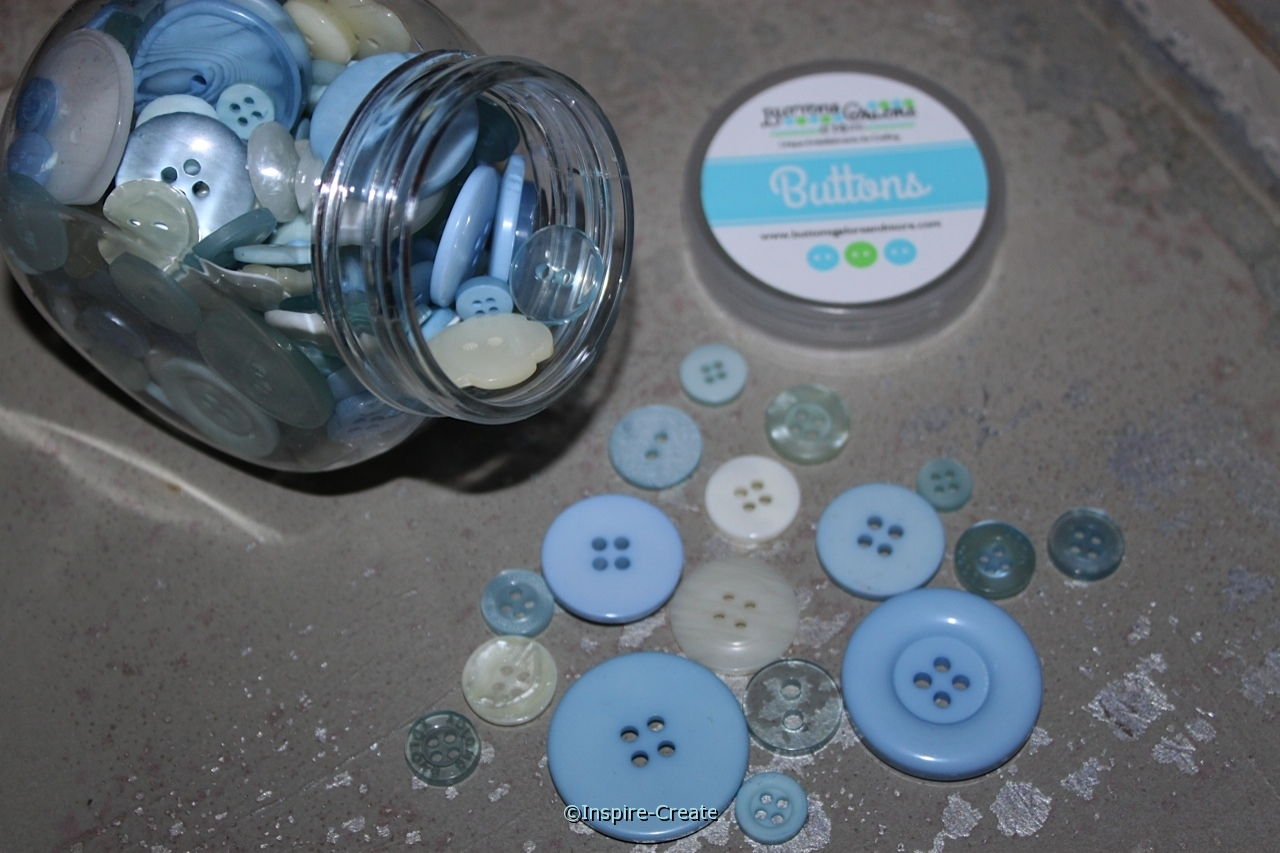 Baby Boy Jar of Buttons (5 oz)*