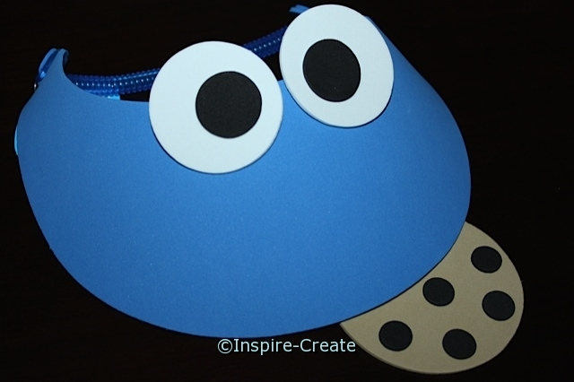 Blue Foam Visor with Cookie Kit (Makes 8)*