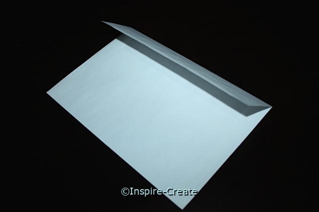 White Half Fold Envelopes (50)*