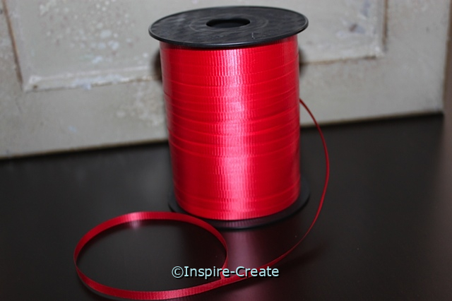 Red Curling Ribbon (500 yards)*