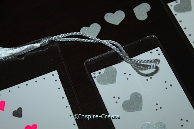 Easy Heart Bookmark Craft