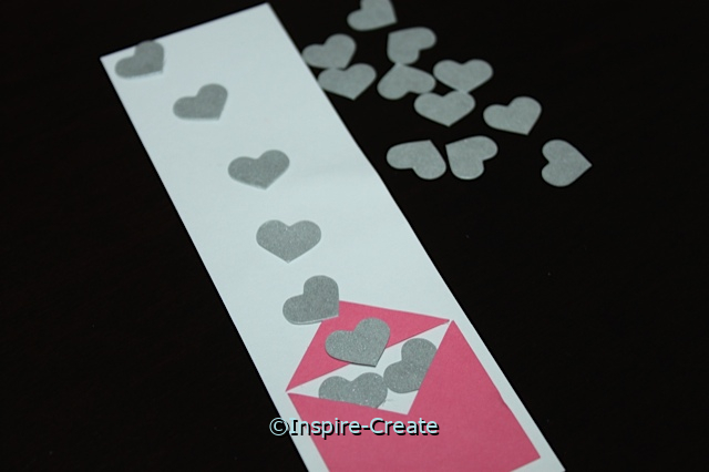Easy Heart Bookmark Insert