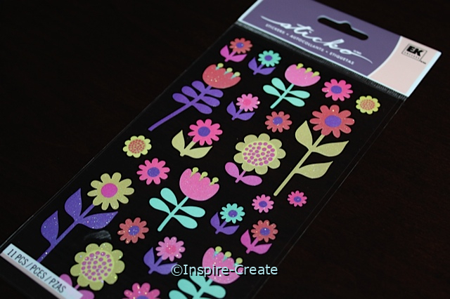 Flower Gallery Sticker Sheet by EK (24)*