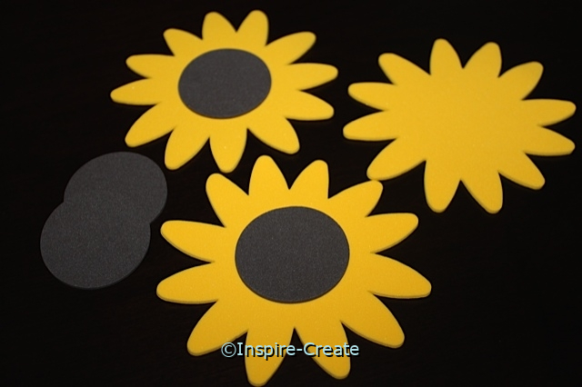Sunflower Foam SHAPES (120)*
