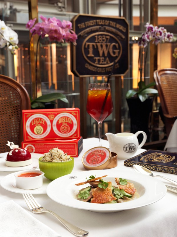 SG50 Set Menu with Jubilee Iced Tea