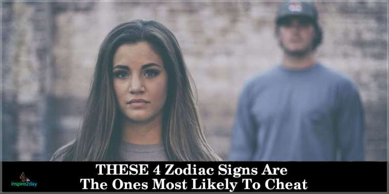 THESE 4 Zodiac Signs Are The Ones Most Likely To Cheat