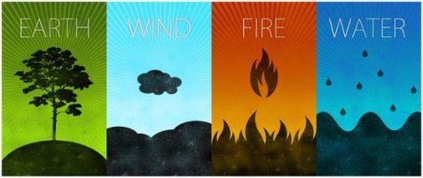 earth water wind fire