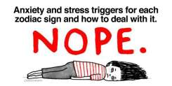 Stress triggers and anxiety according to each zodiac sign and how to deal with it