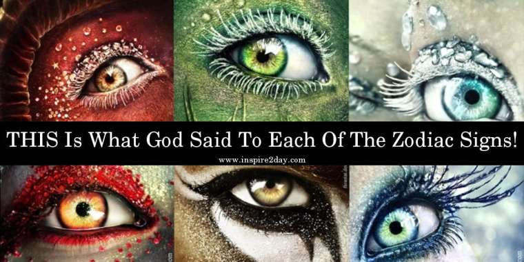 THIS Is What God Said To Each Of The Zodiac Signs!