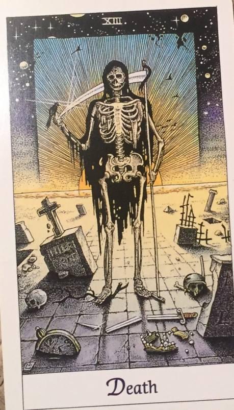 Scorpio: Death