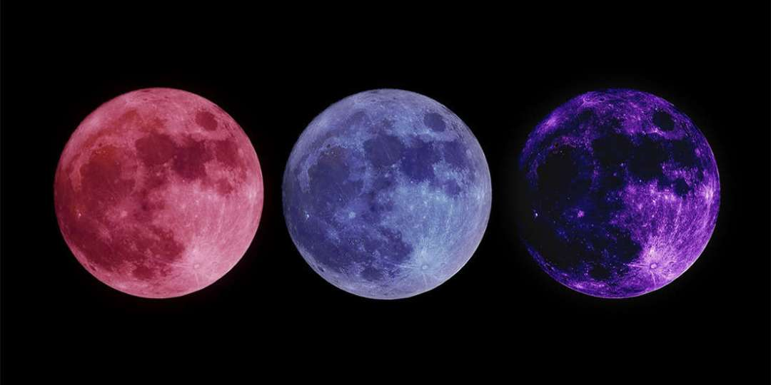 Choose One Moon And Read Your Personal Message