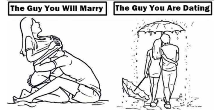 9 Differences Between The Guy You Are Dating And The One You Will Marry
