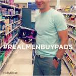 He is not embarrassed about buying tampons or pads for you