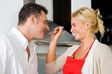 He is not too picky when it comes to your home cooking