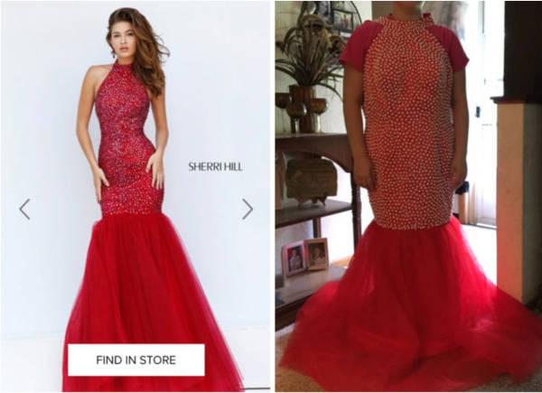 1. Prom dress