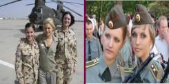 7 Most Gorgeous Women Armed Forces All Around The World