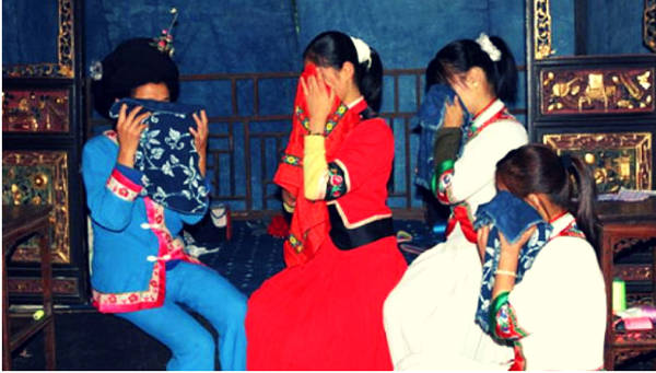 The ritual where the bride cries for a month - China
