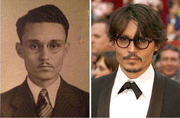 2. A lookalike of Johnny Depp