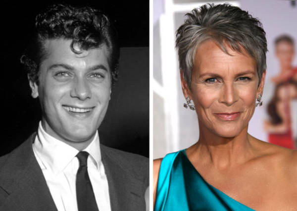 6. Jamie Lee Curtis And Tony Curtis