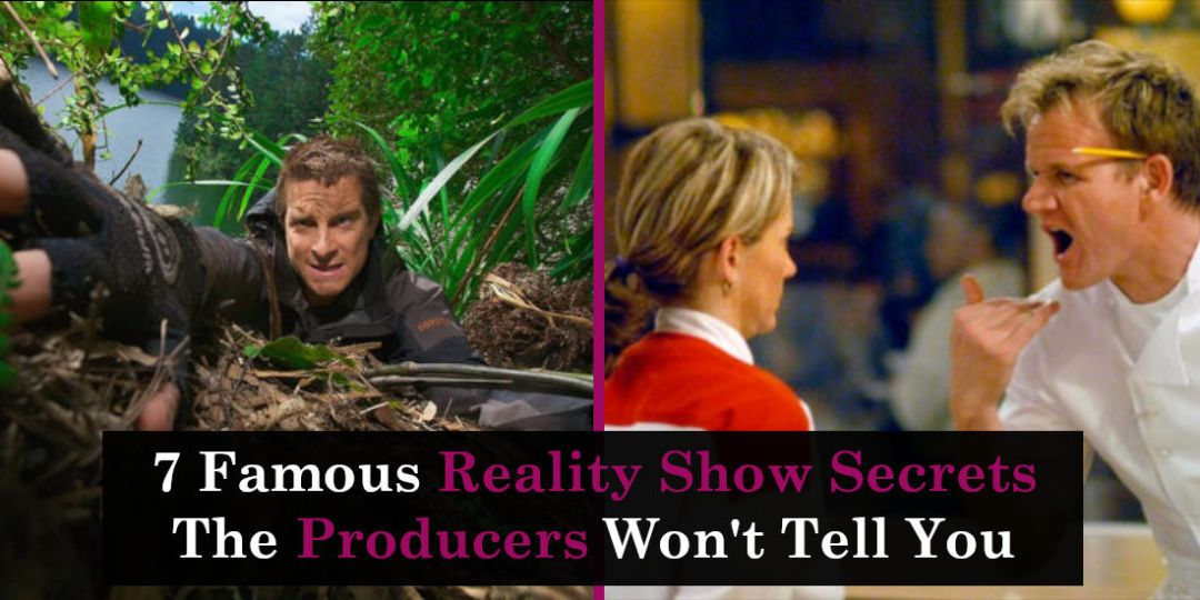 7 Famous Reality Show Secrets The Producers Won't Tell You