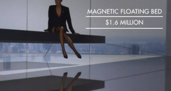 8. Magnetic Floating Bed