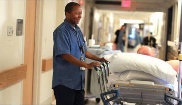 Hospital Transporter Sings To His Patients - 2