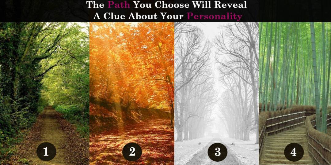 The Path You Choose Will Reveal A Clue About Your Personality