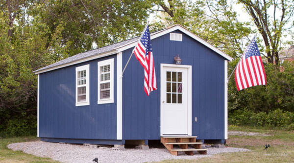 Tiny Village For Homeless Veterans - 1