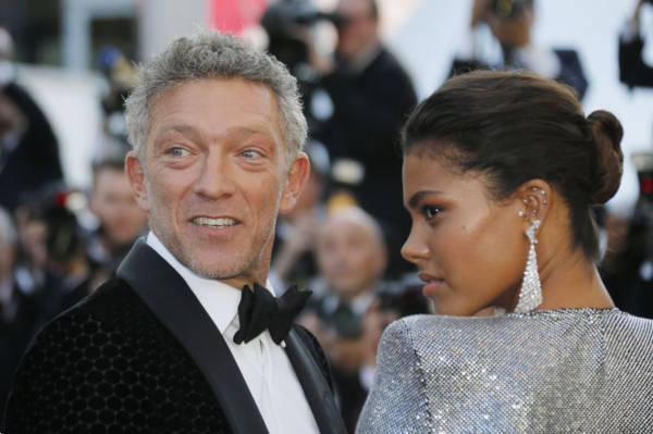 1. Vincent Cassel and Tina Kunaki