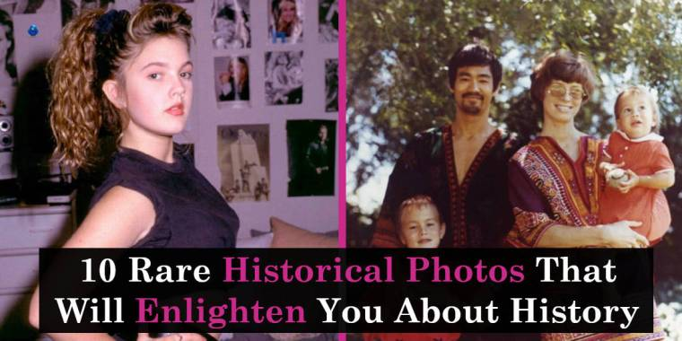 10 Rare Historical Photos That Will Enlighten You About History