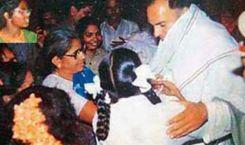 10. Rajiv Gandhi's Last Picture