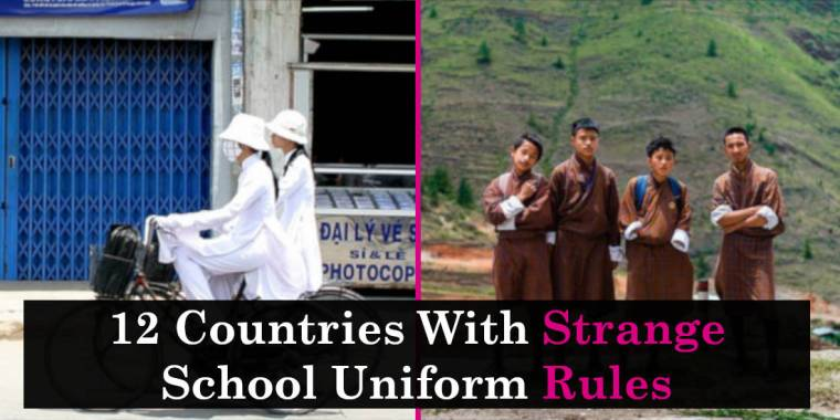 12 Countries With Strange School Uniform Rules