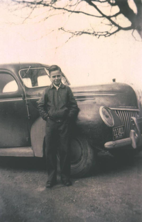 12. 'My Dad's First Car, A 1939 Ford.