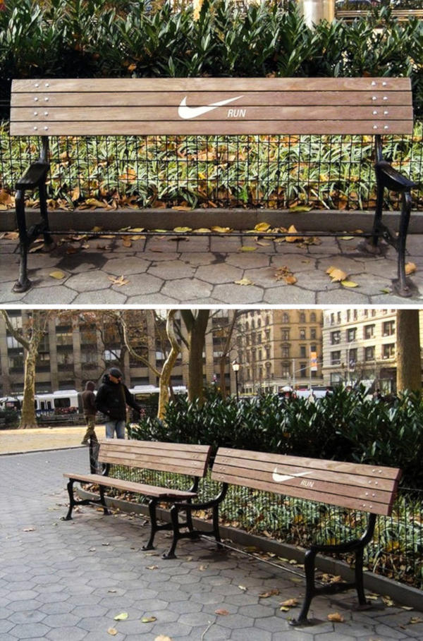 17. Motivation bench in New York