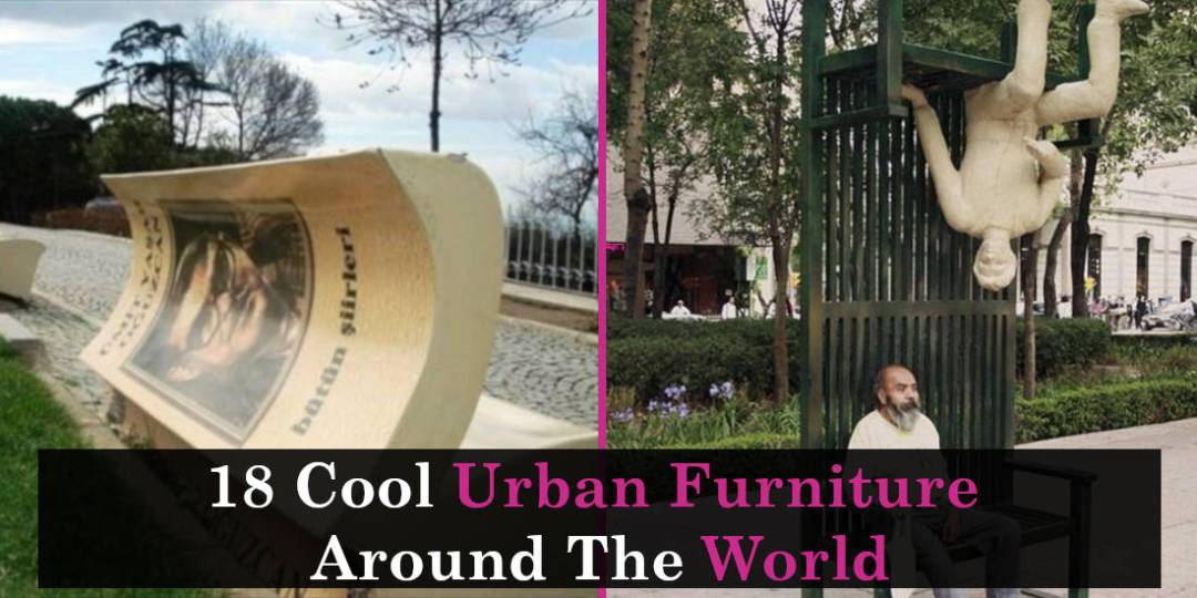 18 Cool Urban Furniture Around The World