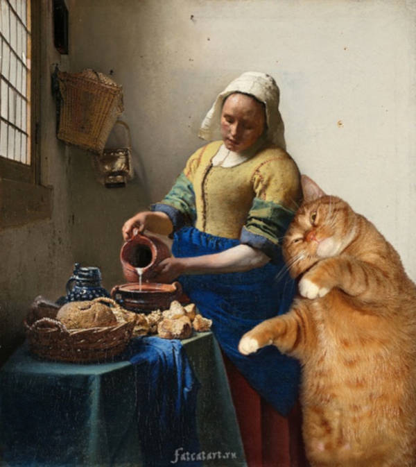 """4. """"The-Kitchen-Maid""""-by-Johannes-Vermeer"""