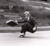 6. 'My Dad Skateboarding At Hyde School 1982. I Think He Was Cooler Than Me'