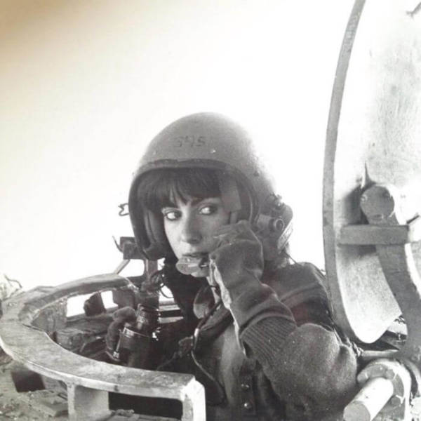 8. 'My Mother When She Was A Tank Instructor In 1984'
