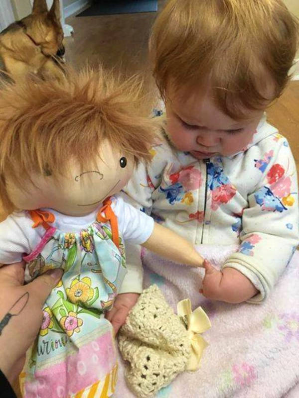A Woman Creates Unique Dolls For Children That Differ - 15